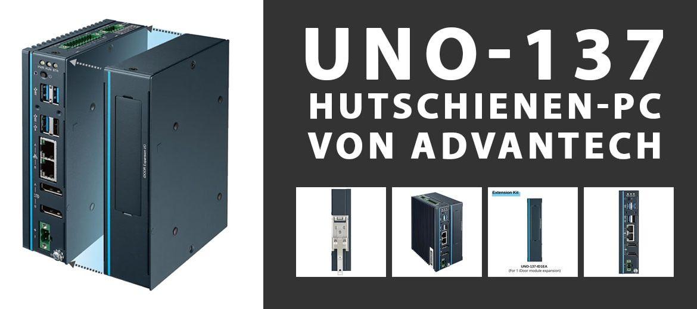 Advantech UNO-137 Hutschienen-PC
